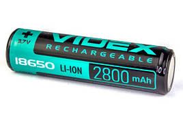 Аккумулятор Videx Li-Ion 18650-P(ЗАЩИТА) 2800mAh