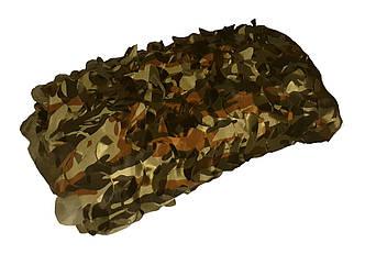 Сетка маскировочная односторонняя 1,5м*6м - камуфляж НАТО