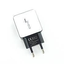 Зарядное устройство 4you A40 (Fast Charger QC 3.0, 5V/3A, 9V/12V-1.5A, 1USB) black/white, фото 3