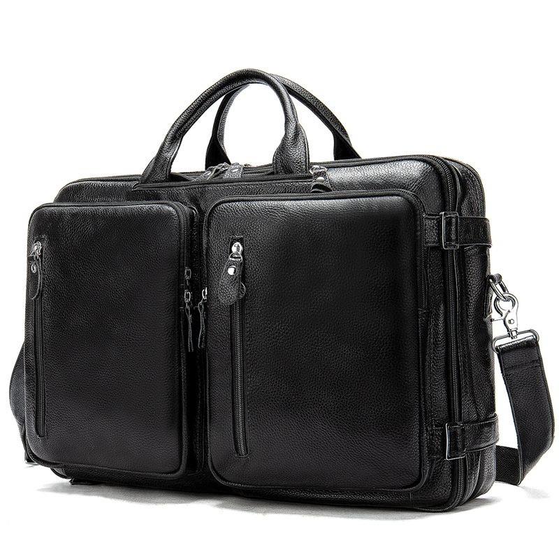 Большая мужская сумка трансформер для ноутбука