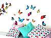 Наклейки бабочки самоклеющиеся для украшения дома 28, фото 6