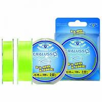 Леска Cralusso Prestige Line Fluo Yellow 150m 0.30mm 11.8kg QSP (2065)