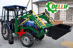 Міні-навантажувач Dellif Baby 500 з джойстиком на трактор DW-404 НОВИНКА ЦЬОГО РОКУ