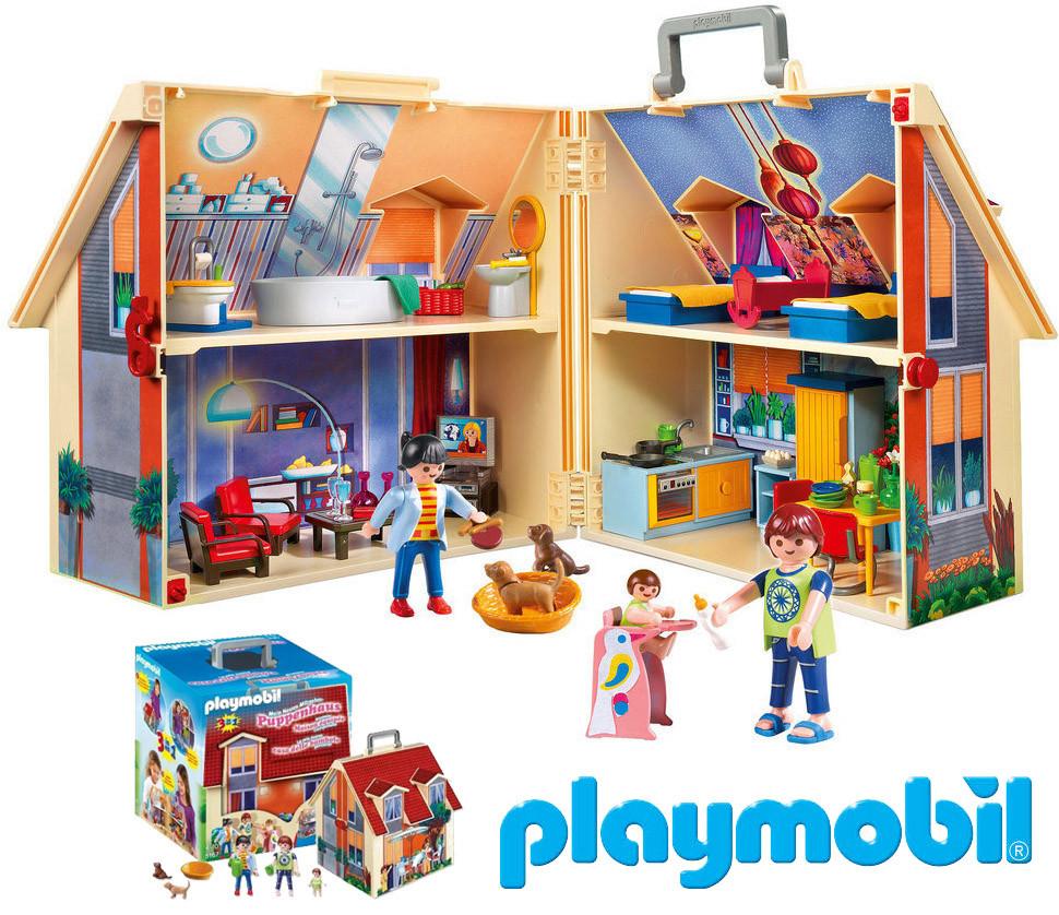 Игрушечный домик для кукол Playmobil 5167 Возьми с собой