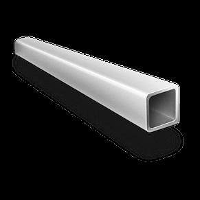 Алюминиевая квадратная труба 35х35х2 мм профиль 6060 Т6, экструзия АД31Т, фото 3