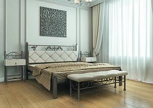 Полуторне ліжко Стелла 140*200 «Метал-Дизайн»