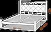 Полуторная кровать Стелла 140*200 «Металл-Дизайн» , фото 3