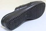 Сабо женские великаны кожаные от производителя модель ВБ500, фото 6