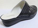Сабо женские великаны кожаные от производителя модель ВБ500, фото 5