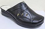 Сабо женские великаны кожаные от производителя модель ВБ500, фото 2