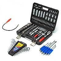 Набор инструментов 108 ед. 61085/106108 + набор ключей 12 ед. 48007+Набор ударных отверток 6 шт49064