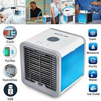 ✅  Мини кондиционер Arсtic Air охлаждает и увлажняет воздух + вентилятор usb в машину