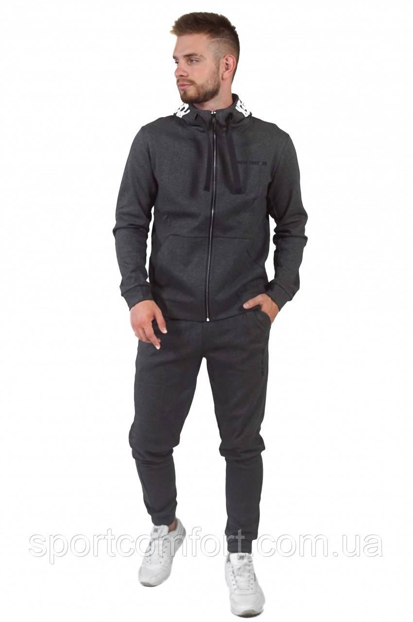 Мужской спортивный костюм Freever чёрный и серый