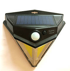 Уличный фонарь WD446 светодиодный СОВ+LED,с датчиком движения, против дождя