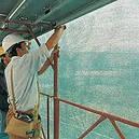 Сетка фасадная синяя 1м х 50м.п.,145 гр / м2 5*5мм, фото 3
