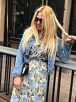Платье рубашка женское 3 расцветки