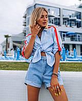 Шорты джинсовые женские светлые С, М, Л