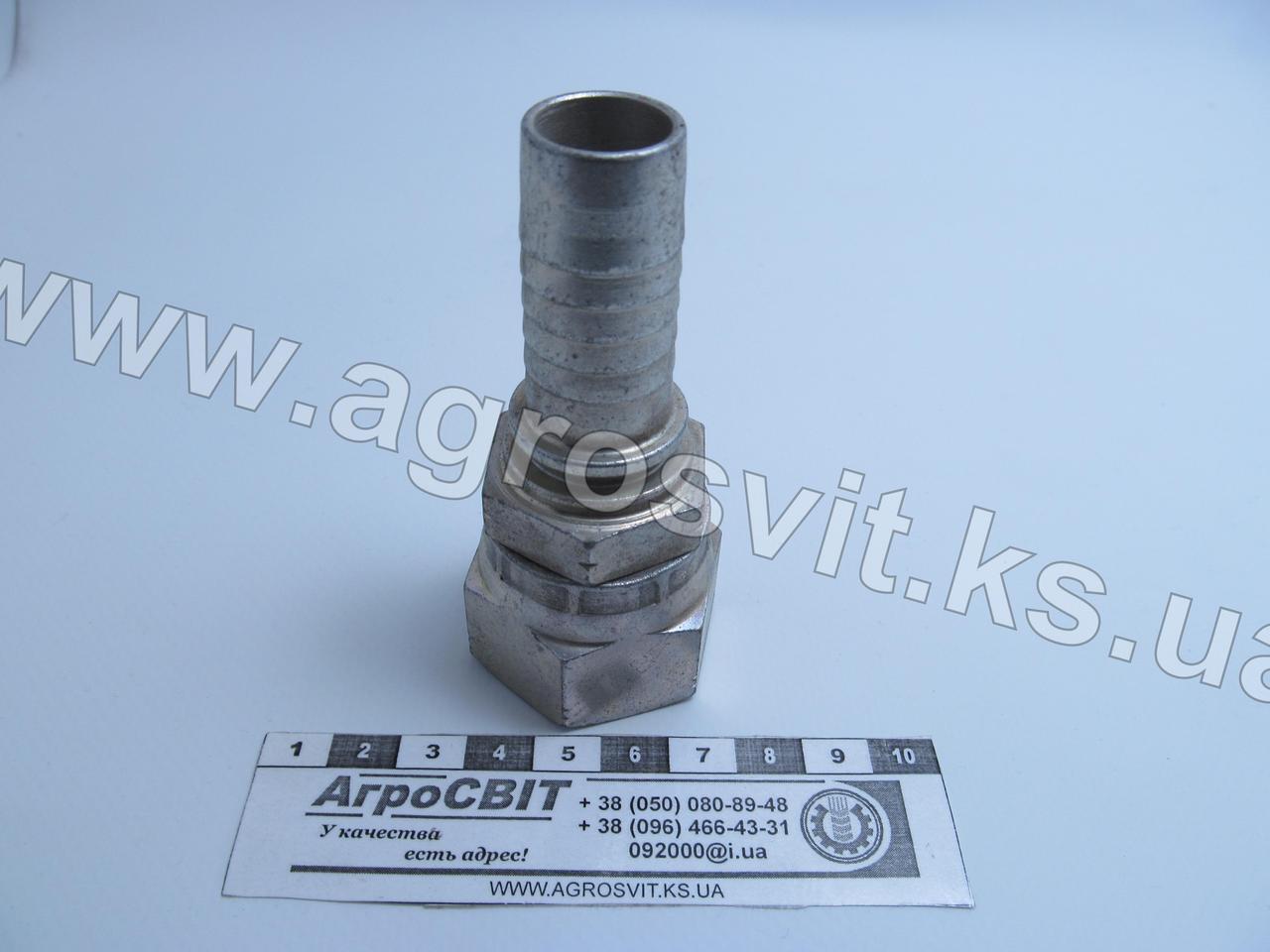 Ниппель JIS-K (Komatsu) М30х1,5 (dу=20 мм.)