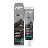 Зубная паста Aekyung 2080 Black Clean Charcoal Toothpaste с древесным углем 120 г