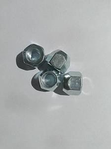 Гайка открытая  М12х1,5х15 кл.19 конус (цинк)