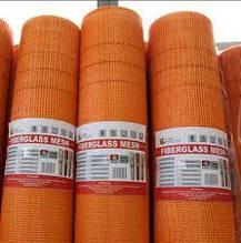 Сетка фасадная  1м х 50м.п.,160 гр / м2 (,оранжевая) 5*5мм