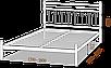 Двоспальне ліжко Тіффані 160*200/180*200 «Метал-Дизайн», фото 3
