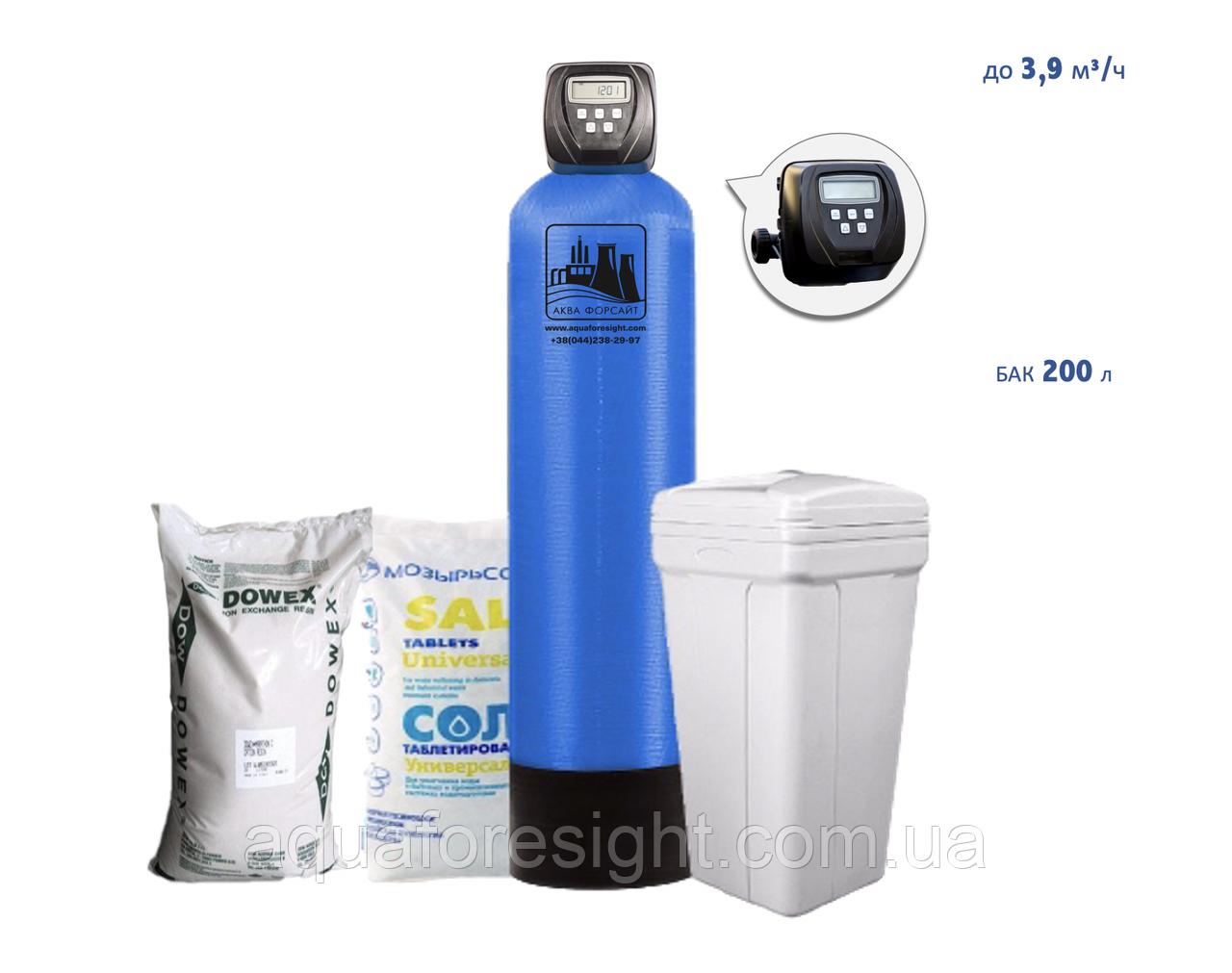 Фильтр умягчения воды 1665 CI производительность 3,9 м3/час