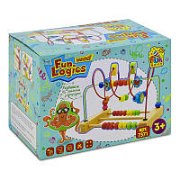 Деревянный Пальчиковый лабиринт Fun Game SKL11-179848