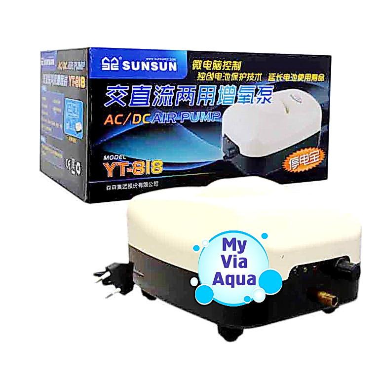 Автономный компрессор с аккумулятором SunSun YT-818
