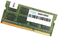 Оперативная память для ноутбука Edge SODIMM DDR3 4Gb 1333MHz 10600S 2R8 CL9 (4GN612R08) Б/У, фото 1