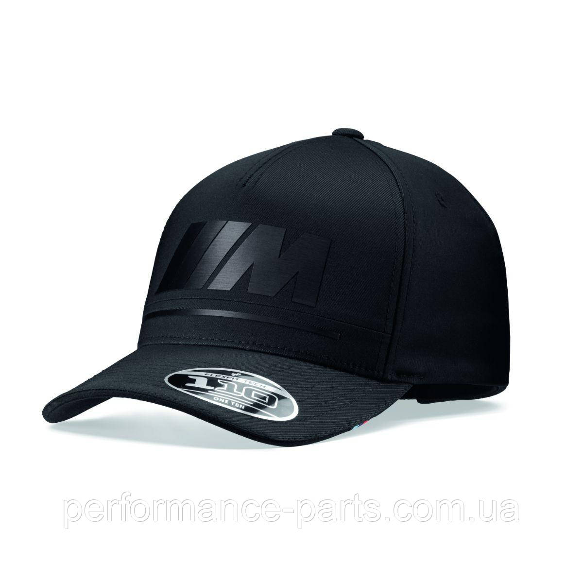 Бейсболка унисекс BMW M Logo Cap, Tonal Black, артикул 80162466301