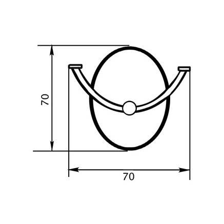 Крючок Lidz (CRM)-114.06.02, фото 2