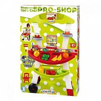 Игрушечный продуктовый киоск Pro-Shop Ecoiffier 21 аксессуар