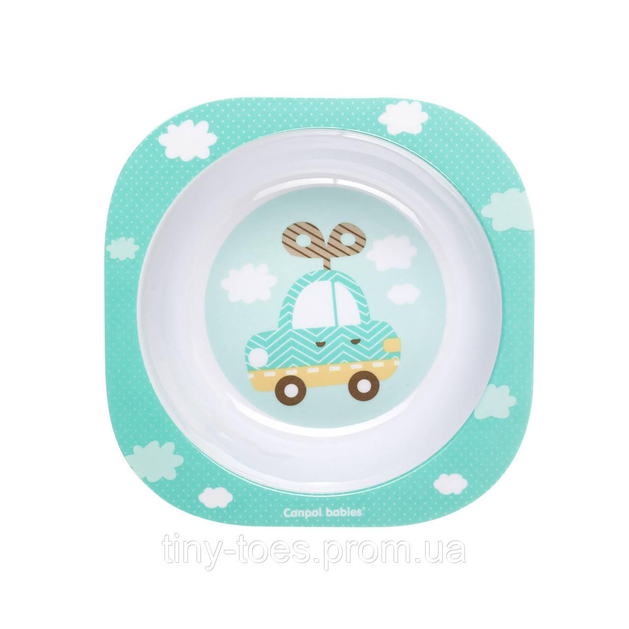Мисочка для немовлят з меламіну Canpol babies Toys 230мл