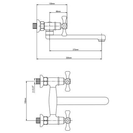 Смеситель для кухни Lidz (CRM)-30 21 361 00, фото 2