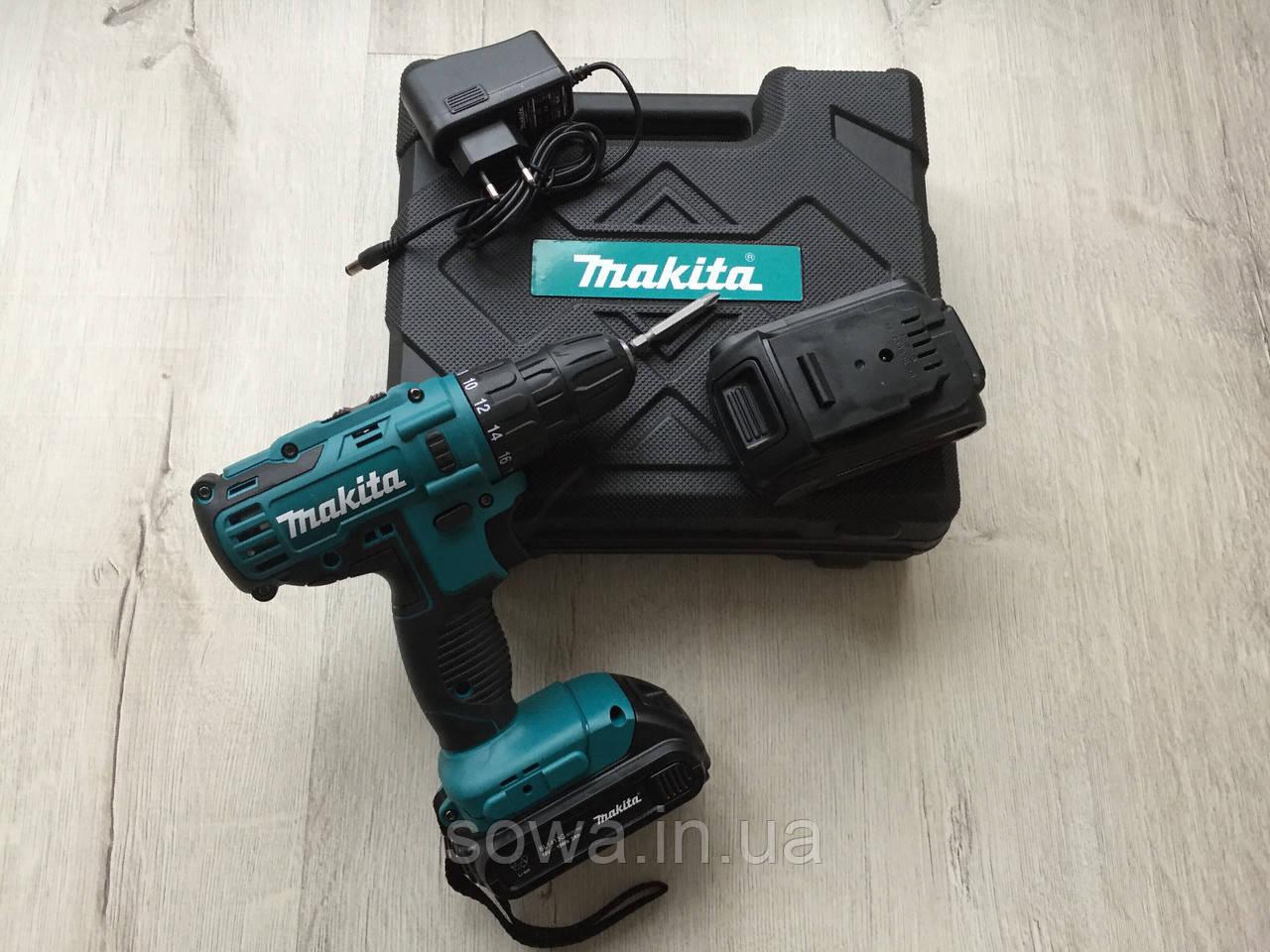 ✔️ Шуруповерт аккумуляторный Makita DF332D | 18V | в кейсе