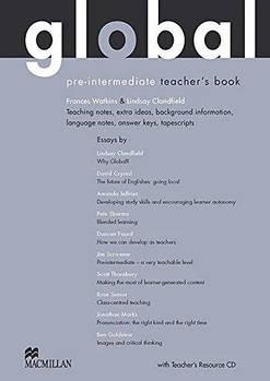 Global Pre-Intermediate Teacher's Book with Teacher's Resource Disc