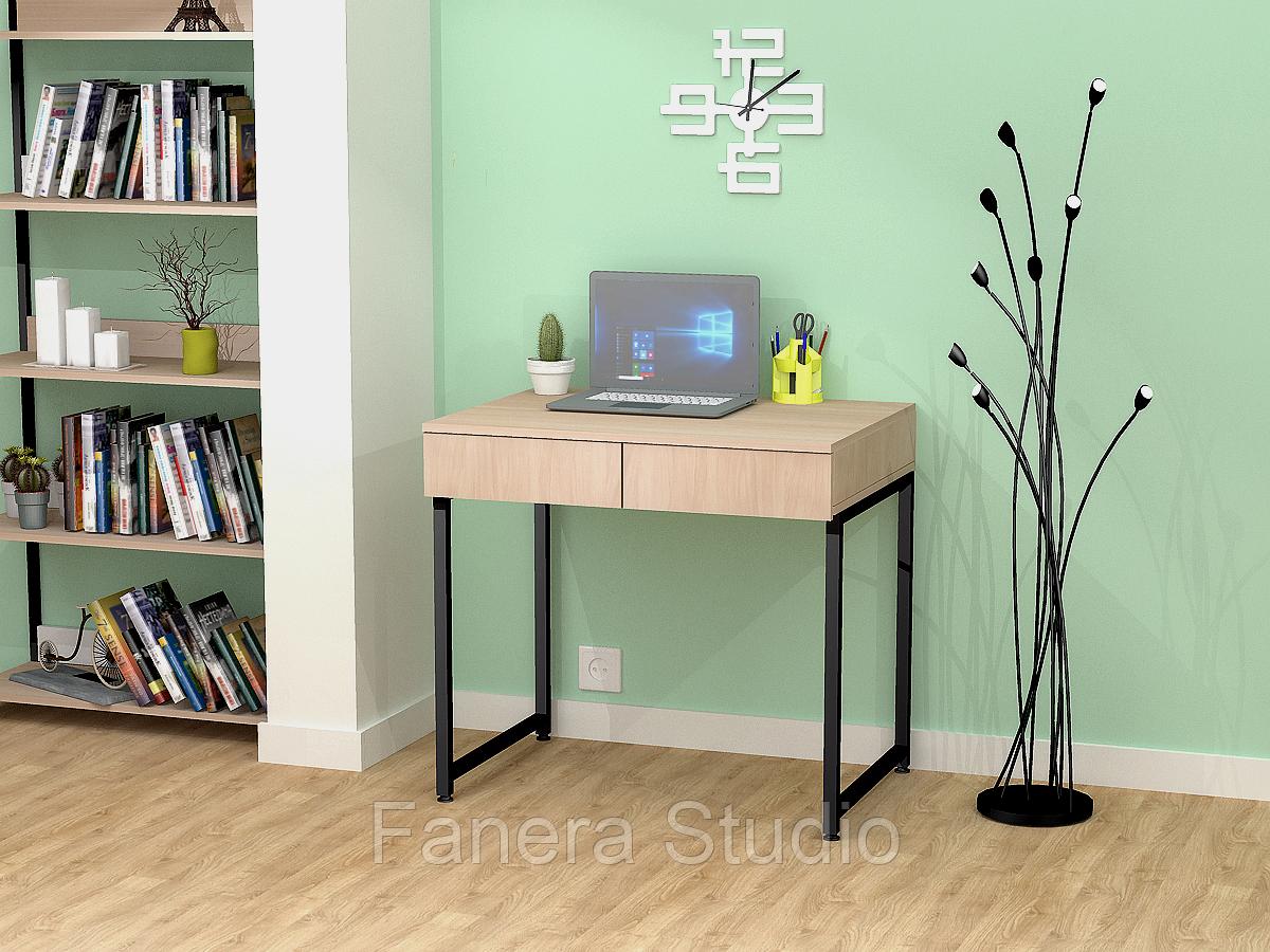 Стол письменный Лофт 5 с двумя ящиками