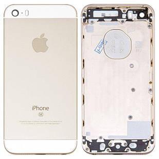 Корпус для iPhone 5SE, золотистый