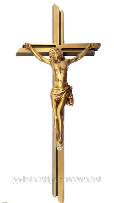 Хрест з розпяттям на памятник гранітний V 900/50