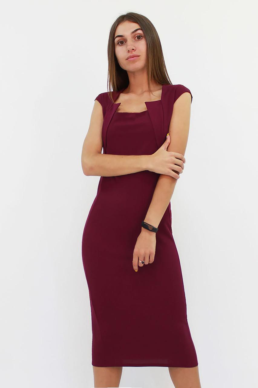 S, M, L, XL | Класичне жіноче плаття-футляр Roksen, марсала
