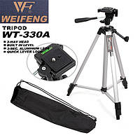✅ Штатив WT 330 A для телефона, камеры | трипод, тренога, тринога, подставка под телефон | Гарантия 12 мес