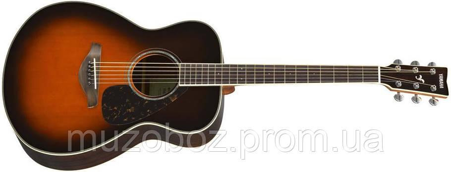 Акустическая гитара Yamaha FS830 (TBS), фото 2