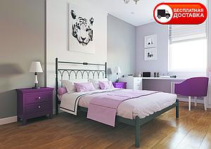 Полуторне ліжко Тіффані 120*200/140*200 «Метал-Дизайн»