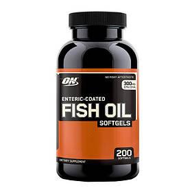 Рыбий жир Optimum Nutrition FISH OIL 200 caps США
