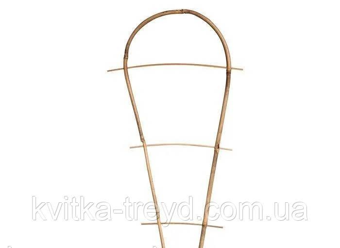 Лесенка бамбуковая на дуге