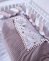 Косичка в детскую кроватку