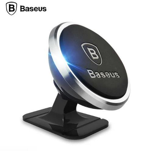 Магнітний тримач для телефону в автомобіль Baseus 360 градусів