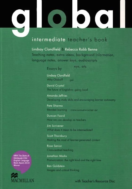 Global Intermediate Teacher's Book with Teacher's Resource Disc