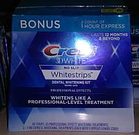 Crest полоски 1 час (2 полоски*22 сашетки =44 шт) Набор для отбеливания зубов.